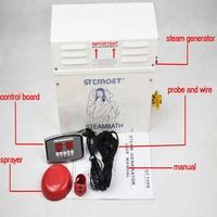 9KW steam generator/Sauna Bath Home SPA shower&ST-135M Controller
