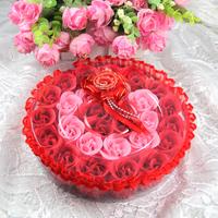 Soap flower gift birthday gift send parents , 5 girls