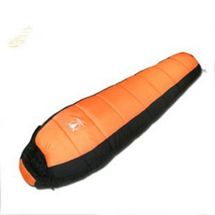 Quality polar fleece sleeping bag fabric outdoor camping sleeping bag can patchwork sleeping bag