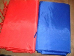 Tent cloth tarpaulin tent cloth single tier outdoor ponces tarpaulin sun-shading fabric blue red(China (Mainland))