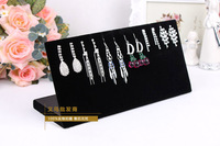 free shipping high quality 25*12.5cm double-purpose earring stand,necklace display