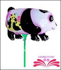 Empurrar Leão Frete grátis off pino folha de balão, balão da folha dentro de 18 centímetros vara . , tamanho 27x18cm(China (Mainland))