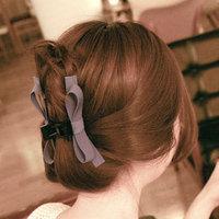 Promotion! Wholesale!  Fashion lady women jewelry elegant colorful ribbon bowknot hair claws  SHR026