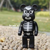 Bearbrick Be@rbrick Horror Bear Black Style Special Edition Birthday Gift