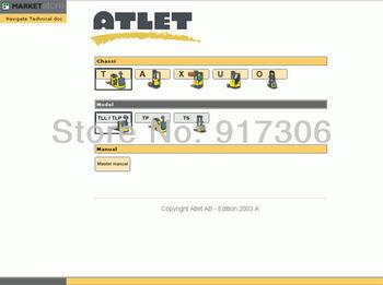 Atlet AB Forklift Spare parts catalog 2007
