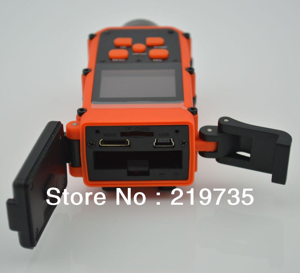 HD Sports DVR with 5.0 MP Waterproof H.264 Sport Helmet Camera HD120