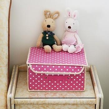 Sweet dot multi-purpose underwear clothes storage box socks storage box coat sundries storage