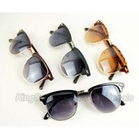 Original Large Wayfarer Sunglasses CLASSIC BLACK vintage retro super future Whloesale 10pcs Free Shipping