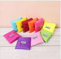 Japan BAGGU square pocket Shopping bag ,only 10pcs/lot min-order,many colors available Eco-friendly reusable folding handle Bag