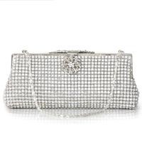 H45 bow diamond day clutch evening bag evening bag banquet bag evening bag