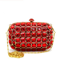 Ruby j55 bling bags women's handbag banquet bag evening bag day clutch