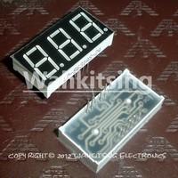 10 PCS LD-5361AS 0.56 inch 3 Digit 7  Segment Red Light LED Numeric Digital Display,Common Cathode