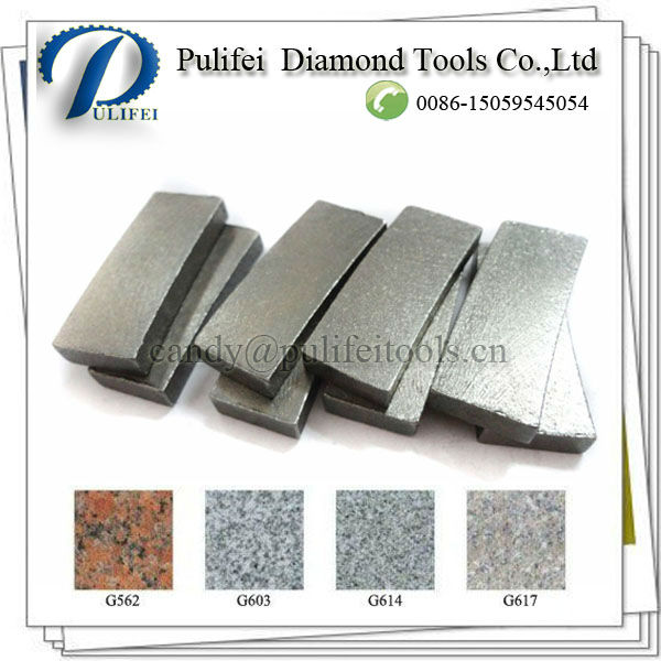40*8*15 mm Diamond Cutting Tools Of Granite Segment(China (Mainland))