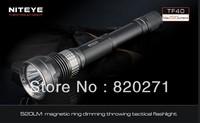 NITEYE TF40 CREE XM-L U2 LED 520 lumens tactics/ hunting long shots flashlight magnetic ring infinitely variable dimming switch