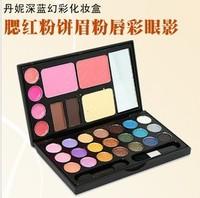 Free shipping Dannie make-up set combination makeup palette make-up box eye shadow powder