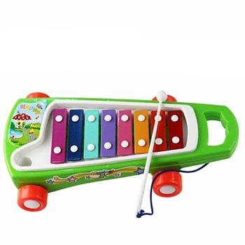 Child music teaching aids 8 hand knocking piano 0 - 3 violin child music toy