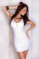 2013 Summer Women Hottest Fashion Top-Sale Sexy Lingerie Party Evening Night Club Dress Sexy White Dress Low Price High Quality(China (Mainland))