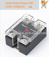 LSSR-V380A15  AC single phase Solid State Relay SSR ,VR:470Kohm/2W ,output 380VAC ,15A