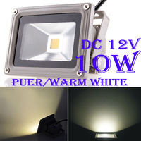 10x DC12V 10W LED Flood Light Waterproof Garden Outdoor Project Lamp Lighting IP65 Pure White/Warm White Free Shipping