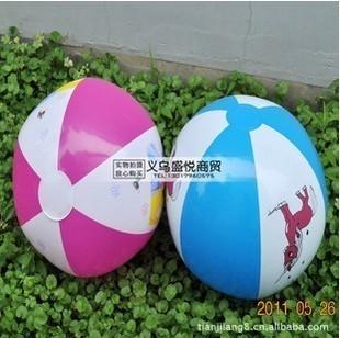 Cartoon pvc inflatable ball beach water polo water toys inflatable water polo volleyball