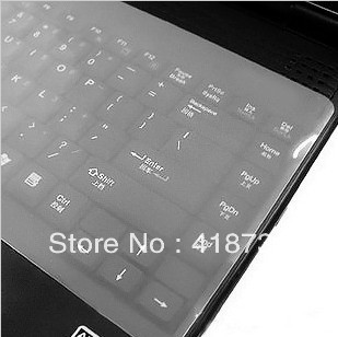 5pcs/Lot Universal Laptop Notebook Silicone Keyboard skin cover protector Dust-proof keyboard cover/covers(China (Mainland))