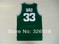 Free Shipping #33 Larry Bird 2013 Rev 30 Basketball Jersey,Embroidery and Sewing logos