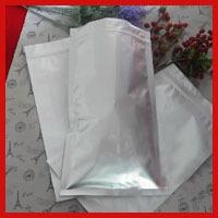 Free Shipping 100pcs/lot 18cm*31cm* 240mic Aluminum Foil Zip Lock Bag Resealable Retail Plastic Packaging Candy Bag Wholesale