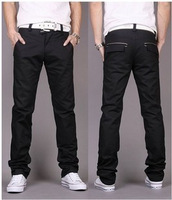 free shipping 2014 The new Korean cultivating leisure trousers men's trousers cotton fashion pants