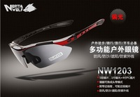 Free shipping/Outdoor sports glasses/cycling wind-proof glasses/polarized sunglasses for men and women can wear myopia