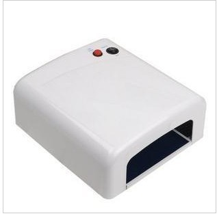 Nail Art Equipment 36W 220V Nail Art Salon Gel Curing Tube Light Dryer With 4 Lamp The UV light phototherapy armour