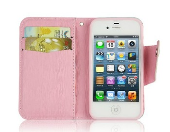 free shipping Blank colorful cell phone case for iPhone 4 / 4s for using directly or DIY Findings