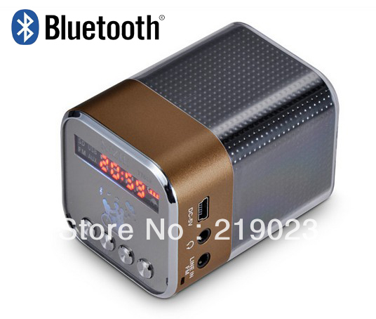 Universal Bluetooth Wireless Speaker System with Aluminum Housing and ABS for Smartphones, Tablets, Laptops,computers etc.(China (Mainland))