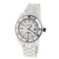 Mrhea black ceramic watch classic male watch male watch white ceramic calendar jcjg71