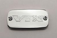 Chrome Brake Fluid Reservoir Cap For Honda VTX 1800 2002 03 04 05 06 07 - 2011 motorcycle part