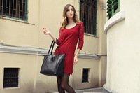 Free Shipping,Hot high grade woman frist chose Leather Handbag,100% Genuine Leather Totes Bag,Large capacity handbags B8207