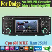 "4.3""   CAR DVD PLAYER autoradio GPS navigation  for  Dodge Neon RAM 1500 Caravan 2500 Stratus Intrepid Dakota Viper"