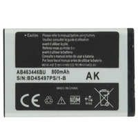 Hot Selling 800mAh AB463446BU Replacement Battery for Samsung C512/ X208/ 1258/ 1250