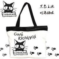 2011 bags fashion cat canvas bag eco-friendly bag bags