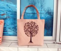 Canvas bag eco-friendly bag shoulder bag handbag women's portable shopping bag