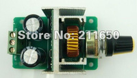 Free Ship,New 5 pieces / Lot, DC 5V-40V 3A PWM DC Motor Speed Control Switch Pulse Width Modulation 12V