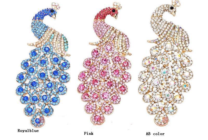 Pavão colorido diy handmade liga iphone caso de telefone beleza decoração(China (Mainland))