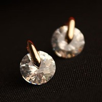 Min Order 15$ Free Shipping Vintage Ziron Earrings 2013 For Gift High Quality Wholesale Hot HG0984