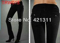 2013new TRW018 Wholesale -  Fashion Women's jeans Women Jean Womens Black jeans Skinny  jeans
