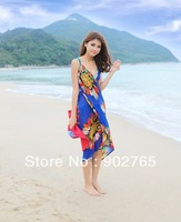 Free shipping fashion lady  Beach Towel/pareo/fashion women swimwear covers ups