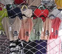 Fashion bone skull bat shirt cutout clothes