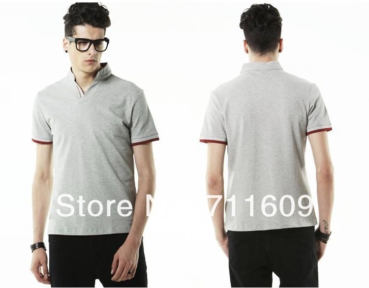 2013-New-Casual-Men-s-Shirt-Stylish-Coat-Slim-Short-Sleeve-Jacket-Fit ...
