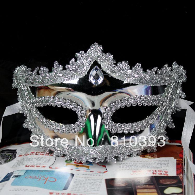 Máscara VENDA QUENTE Atacado grátis Moda Partido Venetian Cosplay Masquerade Halloween New Zy02 2 cores(China (Mainland))