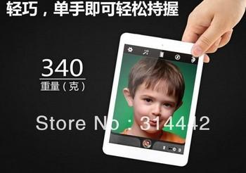 in stock 7.9 inch IPS Android 4.1 Tablet PC Onda V818mini+1GB RAM+16GB ROM+Allwiner A31S Cortex A9 Quad Core+1024*768+5.0MP