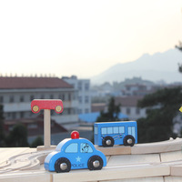 2013 free shipping Blue car compatible 0.1 thomas car