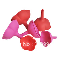 Free Shipping Silicone The silicone funnel